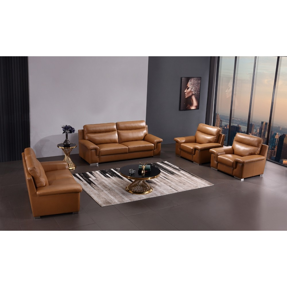 Leather sofa set DON S-DON/7Seater