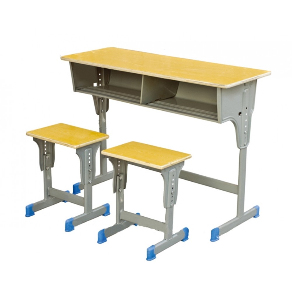 Classroom desk with chairs TBE-AS045