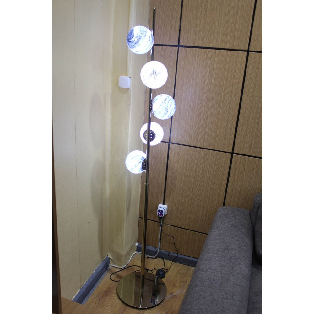 Luxurious Side Lamp LC-ML22012-5 GM (without bulb)