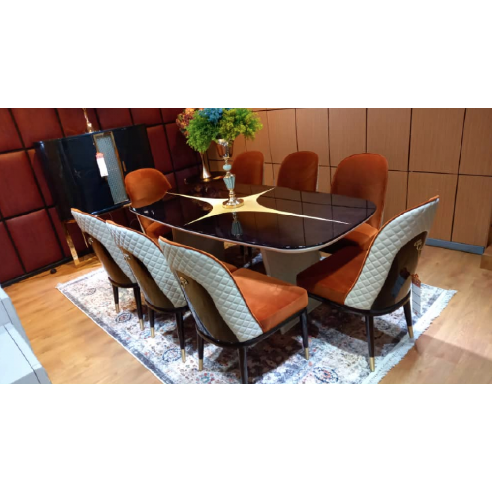 8 Seater Dining Room Set SM-MZ-A705