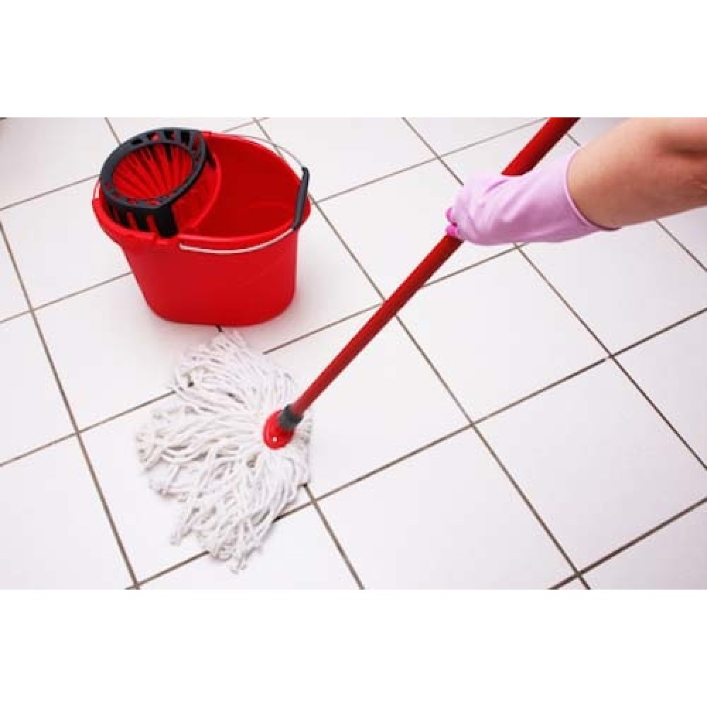 Easy Life 360 rotating spin magic mop No pedal Microfibre rag red SF-T130024
