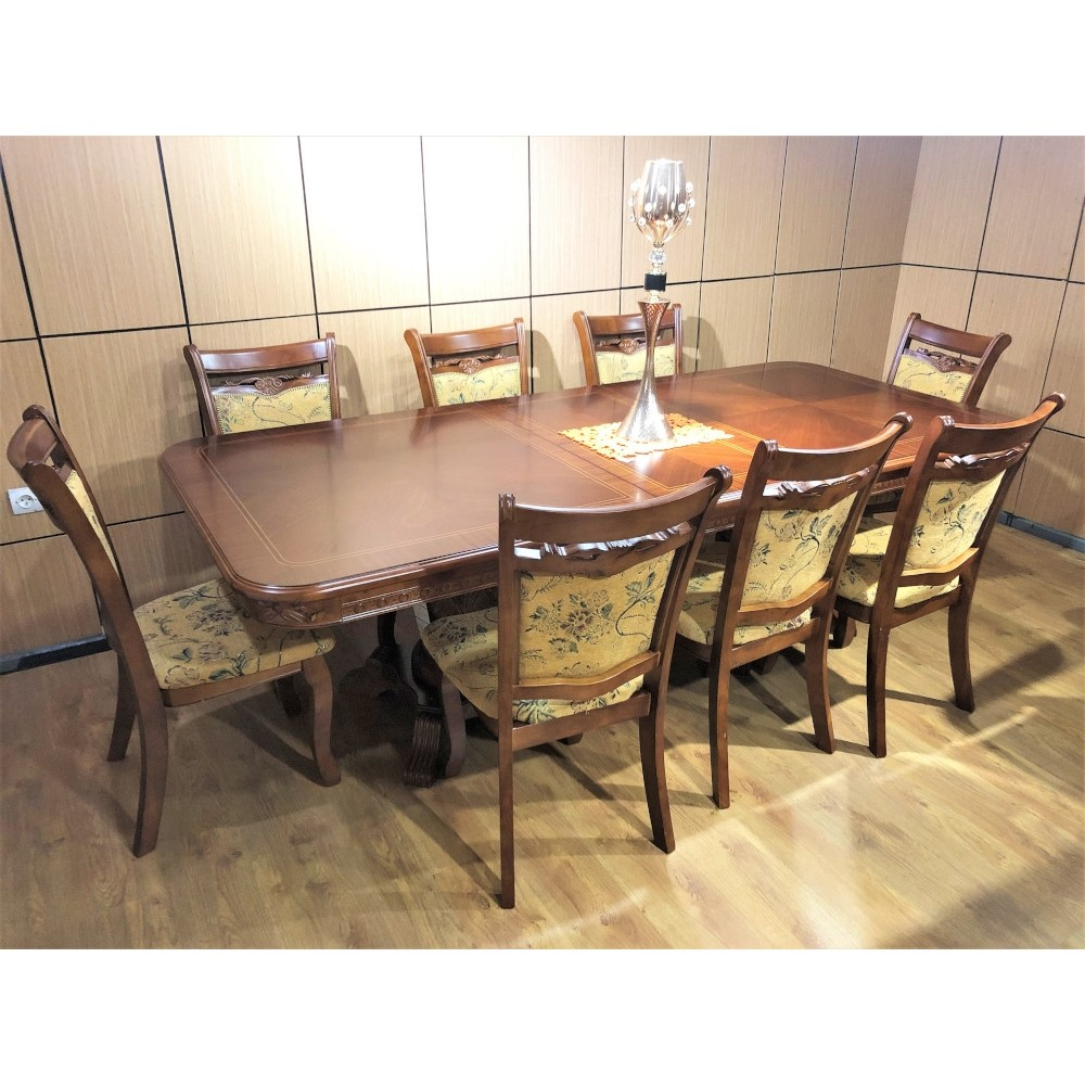 Dining furniture table and 10 chairs TSM-638/840