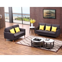 LEA Sofa set: 3 Seater + 2 seater(The Cushions are not included in the prices).