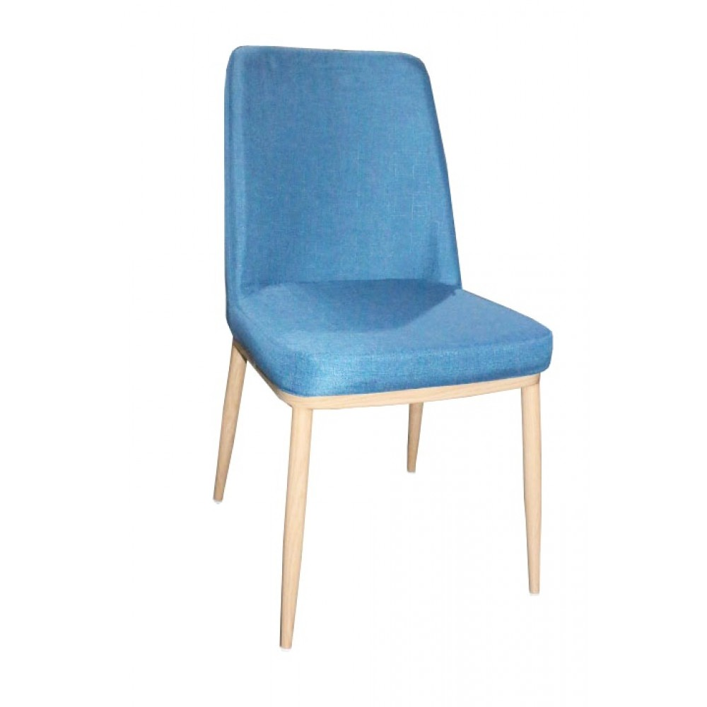 Chaise salle manger bleue csmc with chaise salle a manger for Chaise salle a manger confortable